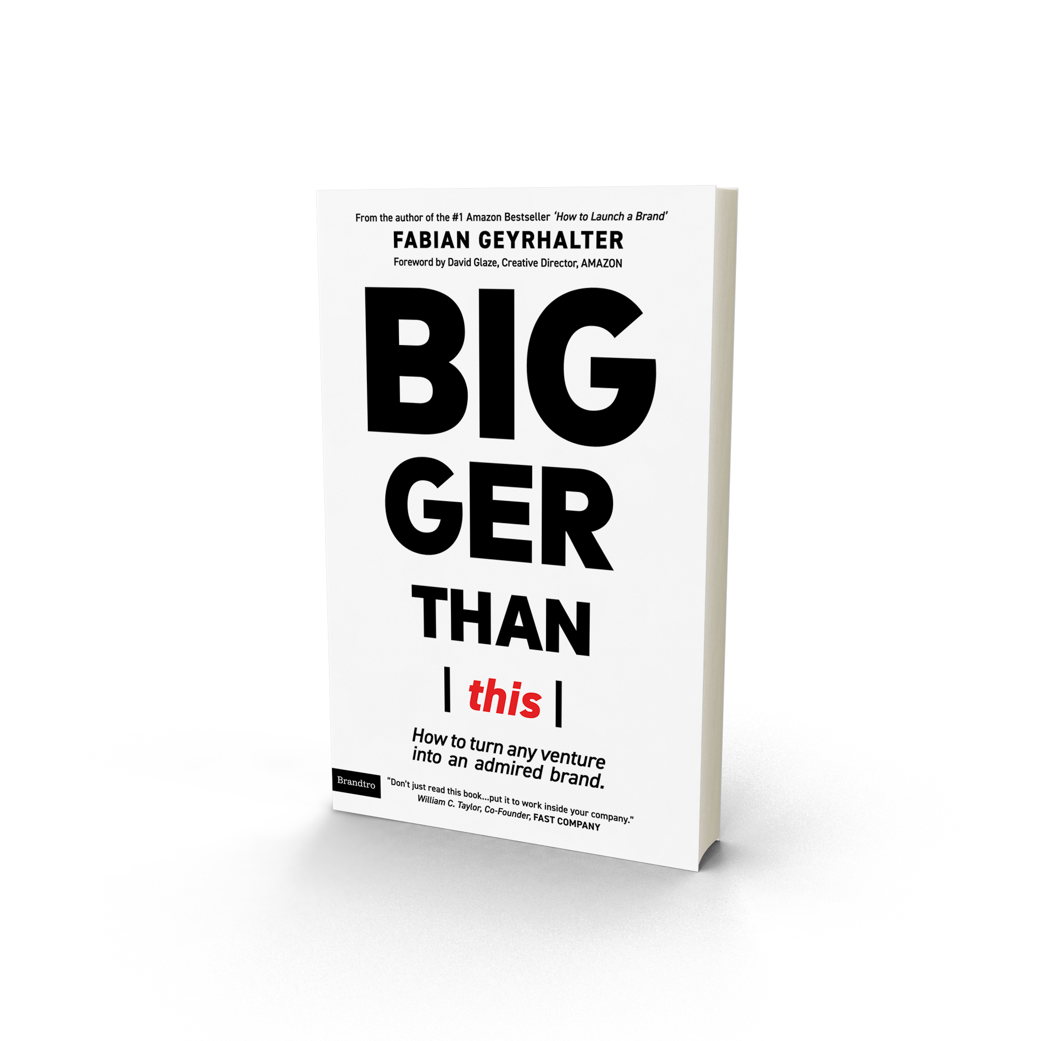 Book cover of bigger than this