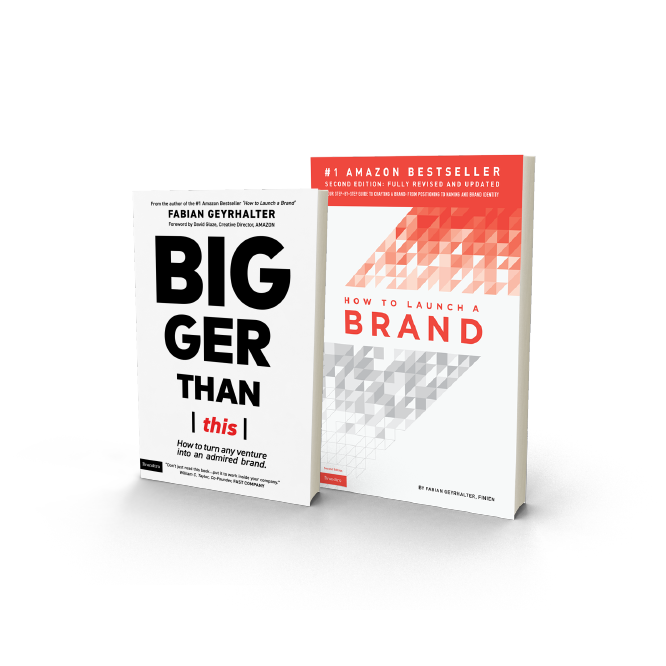 Book cover of how to launch a brand