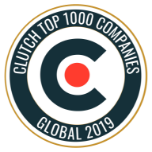 Badge, Clutch Top 1000 Companies