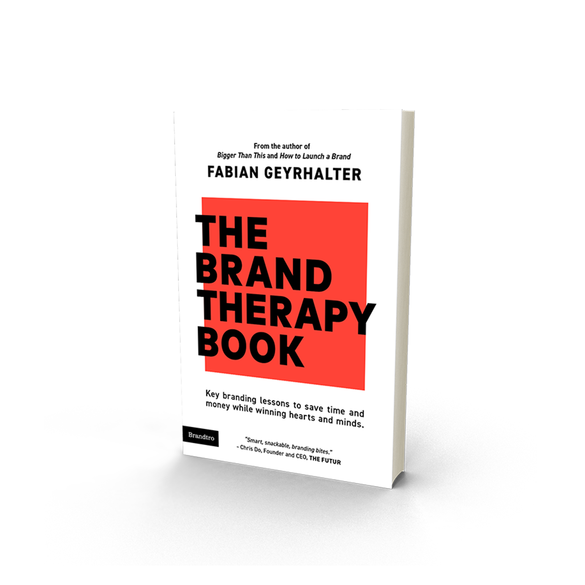 Book cover of the brand therapy book