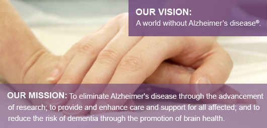 Taken from the Alzheimer's Association web site